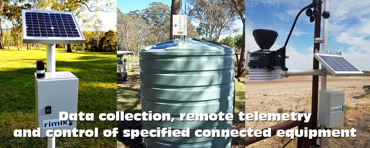 Telemetry Remote Monitoring and Control Systems available from Rimik Australia